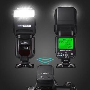フラッシュ・ストロボ スピードライト 2.4Gワイヤレストリガーリモート LCDディスプレイ 標準的...