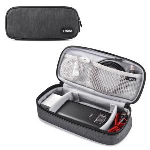 小物収納ポッチ 2つ調整可ベルクロ仕切り PC スマホ タブレット アクセサリー 収納バッグ TK307 TYCKA|halhal