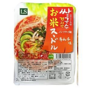 お米ヌードルキムチ味 92g 無トランス脂肪 無防腐剤 低カロリー|halla-mart