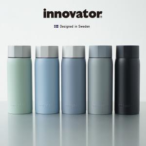 水筒 イノベーター innovator 370ml 保温保冷 ステンレスボトル おしゃれ 直飲み 北欧 ペールトーンカラー パステル 通勤 通学 熱中症 暑さ対策|haloaboxart
