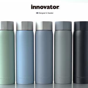 水筒 イノベーター innovator 480ml 保温保冷 おしゃれ ステンレスボトル 直飲み 北欧 ペールトーンカラー パステル 新生活 通勤 通学 熱中症対策 ランチ|haloaboxart