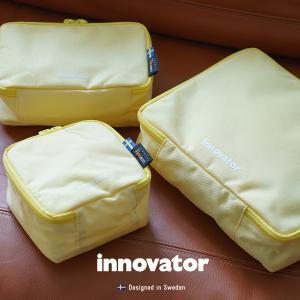 イノベーター innovator トラベルポーチ 3点セット INT6.8L 条件付き送料無料 新生活 通勤 通学 プレゼント ガジェットポーチ 防災ポーチ トラベル メーカー直送|haloaboxart