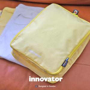 旅行用収納ポーチ INT8L Mサイズ ディビジョンパックポーチ イノベーター innovator  吊り下げ 衣類収納バッグ パッキング 北欧  新生活 仕分け トラベルセット|haloaboxart