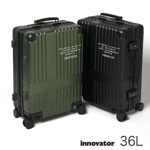 イノベーター スーツケース innovator inv1811la 36L Sサイズ アルミキャリーケース アルミボデー 機内持ち込みサイズ 北欧 トラベル 送料無料 メーカー直送|haloaboxart