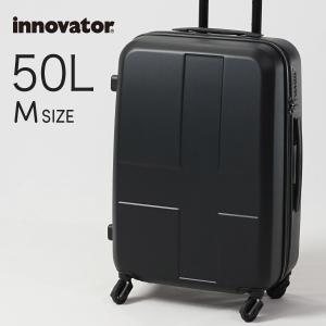イノベーター スーツケース innovator inv55 50L Mサイズ 軽量 ジッパー キャリーバッグ キャリーケース 北欧 トラベル 修学旅行 送料無料 2年間保証|haloaboxart