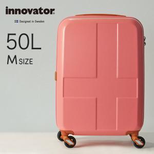イノベーター スーツケース innovator inv55 50L Mサイズ 軽量 ジッパー キャリーバッグ キャリーケース 北欧 トラベル 送料無料 2年間保証 修学旅行|haloaboxart