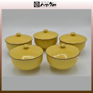 有田焼 湯呑セット 黄釉ぶどう 汲出揃 5組セット item no.1f015|hamadaya-shokki