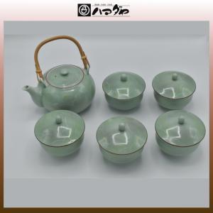 有田焼 茶器セット 蓋付茶器揃 木箱入り 5組セット 現品限り item no.1f020|hamadaya-shokki