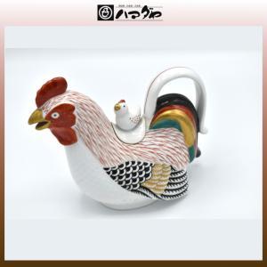 林九郎窯 銚子 伊万里雛 蓋付鶏銚子瓶 展示品限り item no.1f043|hamadaya-shokki