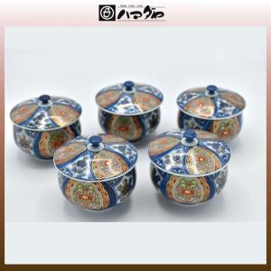 有田焼 湯呑セット 王朝絵巻 蓋付 汲出し揃 現品限り item no.1f047|hamadaya-shokki