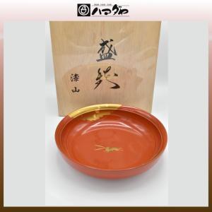 山中塗 鉢 9.0 武蔵鉢 かがやき 木箱入り 現品限り item no.1f051|hamadaya-shokki