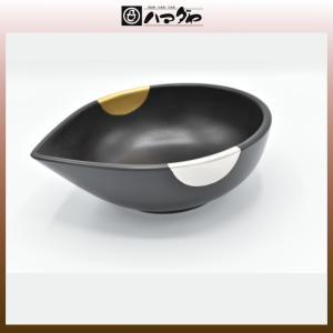 山中塗 鉢 伝承日月片口鉢 item no.1f088|hamadaya-shokki