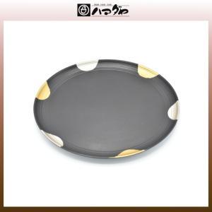 山中塗 盆 伝承日月10.0九盆 item no.1f090|hamadaya-shokki