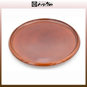 春慶塗 盆 丸盆11.0 展示品限り item no.1f094|hamadaya-shokki