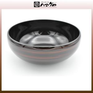越前塗 鉢 彩波盛鉢 白檀 item no.1f096|hamadaya-shokki