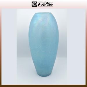 ガラス 花瓶 水色花瓶 item no.1f108|hamadaya-shokki