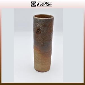備前焼 花瓶 小林秀二作 掛花入 展示品限り item no.1f120|hamadaya-shokki