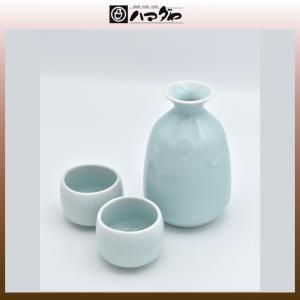 竹窯 酒器 青磁酒器揃 item no.1f150|hamadaya-shokki