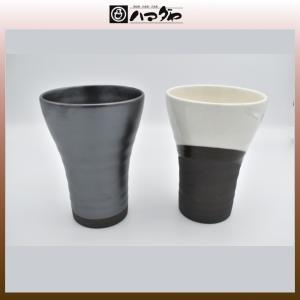 美濃焼 カップ 夢紀行 ペアビアカップ 風呂敷付き item no.1f167|hamadaya-shokki