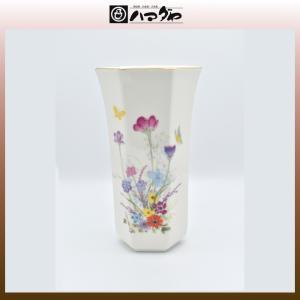 美濃焼 花瓶 六角花生 item no.1f203|hamadaya-shokki