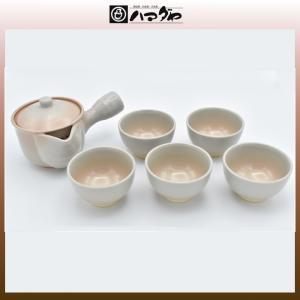 萩焼 茶器セット 椿秀姫土茶器揃 item no.1f273|hamadaya-shokki
