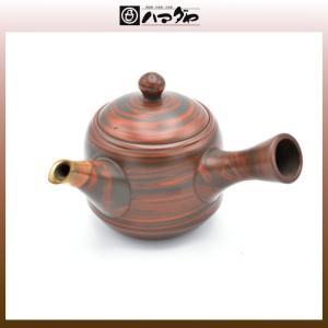 常滑焼 急須 香畝作 窯変茶注 木箱入り item no.1f289|hamadaya-shokki