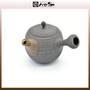 常滑焼 急須 松峰造 松皮茶注 木箱入り item no.1f293|hamadaya-shokki
