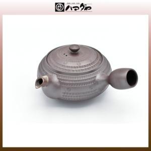 萬古焼 急須 正規作1.8平丸肩付インカ線 item no.1f295|hamadaya-shokki