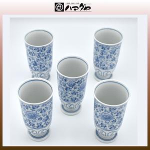 有田焼 中島誠之助 カップセット 花唐草ピルスナー揃え item no.1f638|hamadaya-shokki