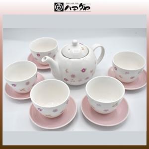モリハナエ 茶器セット 5組 item no.1f736|hamadaya-shokki