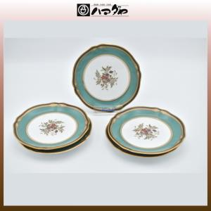 ノリタケ ボーンチャイナ ハナリンス パン皿セット 5枚セット 14cm item no.2f422|hamadaya-shokki