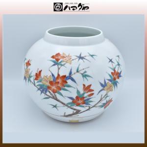 有田焼 花瓶 奥川俊右ェ門作 錦つつじ花生 item no.2f446|hamadaya-shokki