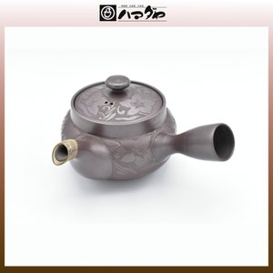 萬古焼 急須 白梅造 item no.2f508|hamadaya-shokki