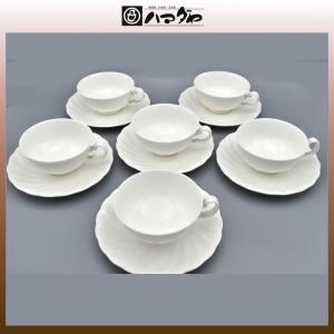 ノリタケ ボーンチャイナ ティカップ 6セット item no.2f528|hamadaya-shokki