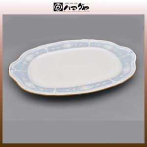 ノリタケ レースウッドゴールド プラター 36.5cm item no.2f532|hamadaya-shokki