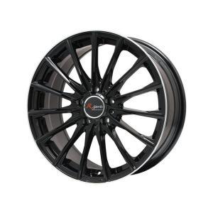 タイヤ・ホイール4本セット 195/50R16 レアマイスター ユーロテック R SPORTS Mブラック Gブラック 6.50-16 100-5H DL ルマン5 アウディ A1 S1 乗用車|hamagare-netstore