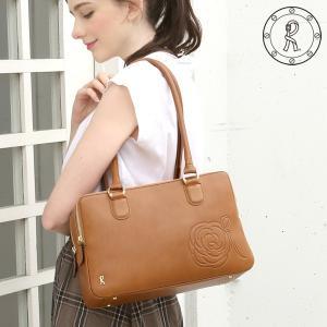 【ロベルタ】グレース・ケリーをイメージした特別なローズを、こっくりとしたヌメ革に型押しした上品なバッグ Shanghai Rosie(シャンハイロージー) hamano