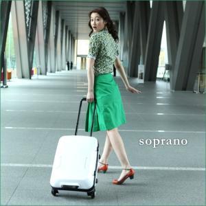 【PROTEX】スーツケース 機内持ち込み 容量約31L PC専用内装付き soprano(ソプラノ)2〜3泊の国内旅行に。歌姫MISIAとコラボのスーツケース【12月7日頃出荷】|hamano
