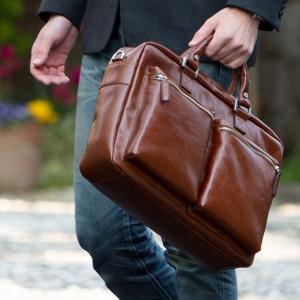 【PICARD】mens and gift 『革の街』で、熟練のマイスターが仕立てるメンズバッグBuddy Briefcase(バディブリーフケース) hamano