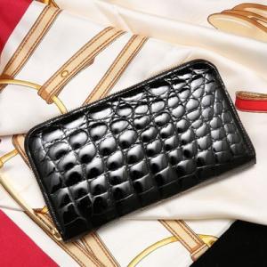 【池田工芸】日本最大のクロコダイル専門店が贈るFirst Croco Longwallet(ファーストクロコ ロングウォレット)[次回出荷日:7月28日頃出荷]|hamano