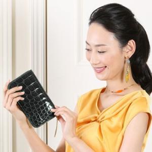 【池田工芸】日本最大のクロコダイル専門店が贈るFirst Croco Longwallet(ファーストクロコ ロングウォレット)[次回出荷日:7月28日頃出荷]|hamano|02