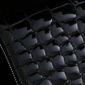 【池田工芸】日本最大のクロコダイル専門店が贈るFirst Croco Longwallet(ファーストクロコ ロングウォレット)[次回出荷日:7月28日頃出荷]|hamano|03