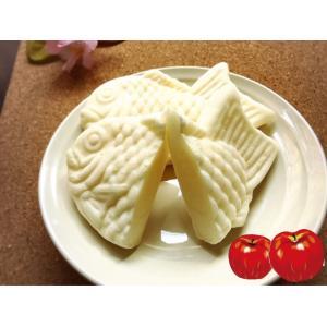 白いたい焼き ふじりんご 1個