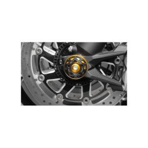 Aprilia RSV4(09〜12年) フロント アクスルスライダー ゴールド(DI-FAS3D-AP-01-G) Dimotiv(ディモーティブ)|hamashoparts