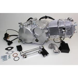 150ccエンジンレーシングタイプ スピードシルバーNO05035 MINIMOTO(ミニモト) hamashoparts