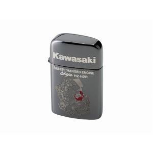 S/Cエンジンライター(RONSON) ブラックミラー KAWASAKI(カワサキ)|hamashoparts