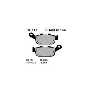 リアブレーキパッド オーガニック(レジン) 右用 Vesrah(ベスラ) SVF650 グラディウス650(GLADIUS)(09〜10年)|hamashoparts