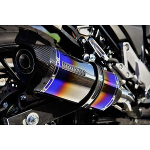 GT-CORSA スリップオンマフラー ヒートチタン 政府認証 BMS-R(ビームス) Vストローム250(V-Strom250)|hamashoparts