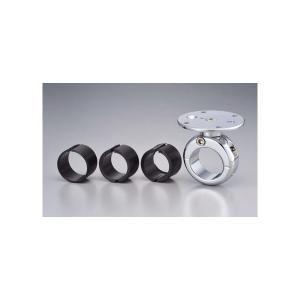 【セール特価】ハンドルバーマウント ベーシックモデル 7/8(22mm)、1(25mm)、1-1/8(28mm)、1-1/4(32mm) クローム TECH MOUNT(テックマウント)|hamashoparts
