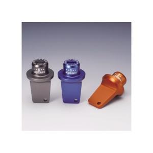 アルミ削り出しキーホルダー CNC タイプ1 オレンジ KIJIMA(キジマ)|hamashoparts